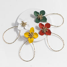 Charming Hottest Alloy With flower Earrings