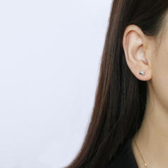 Chic Laiton Femmes Boucles d'oreilles