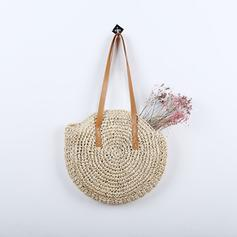 Classical Straw Shoulder Bags/Beach Bags
