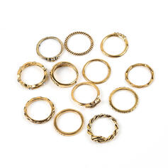 Stylish Hottest Alloy With Moon Jewelry Sets Rings (Set of 12)