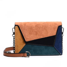 Fashionable/Splice Color Polyester Crossbody Bags/Shoulder Bags