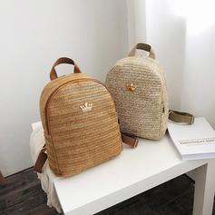 Elegant/Gorgeous/Unique Straw Backpacks