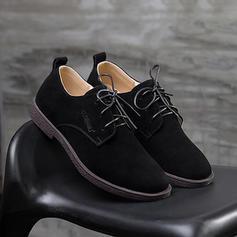 Dentelle Décontractée Vrai Cuir Hommes Chaussures Oxford pour hommes