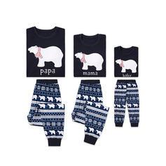 Bear Family Matching Pajamas
