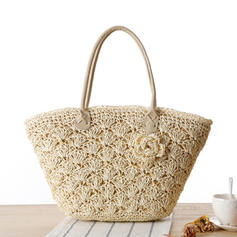 Unique/Charming Paper Rope Tote Bags/Beach Bags/Bucket Bags