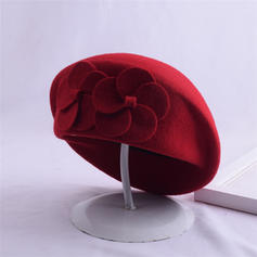 Ladies' Elegant Acrylic/Wool Blend Beret Hats