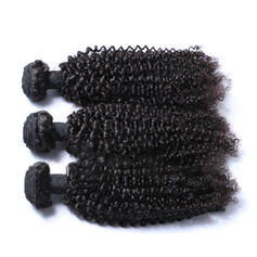 4A Kinky Curly människohår Våg av människohår (Säljs i ett enda stycke) 100g