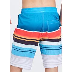 A bărbaţilor Dungă Pantaloni scurți Costum de Baie