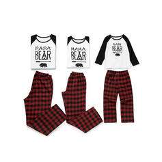 Plaid Print Family Matching Pajamas