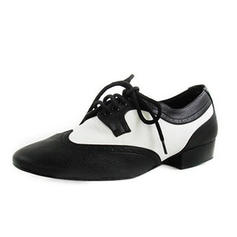 Kids' Latin Ballroom Practice Character Shoes Flats Real Leather Latin