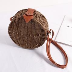 Braided Straw Crossbody Bags/Shoulder Bags/Beach Bags