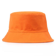 Unisex Simple Cotton Bucket Hats