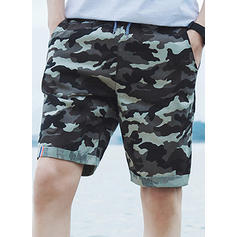 Men's Leopard Board Shorts Swimsuit