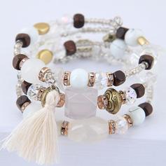 Klassiek Legering Resin Vrouwen Armbanden (Verkocht in één stuk)