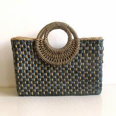 Elegant/In de mode/Vintage/Bohemian stijl/Gevlochten/Eenvoudig/Handgemaakte Tote tassen/Strandtassen/Hobo Bags Riemzakken/Opbergtas