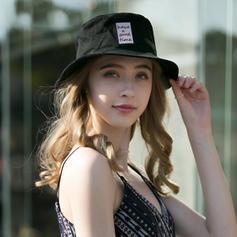 Dames Style Classique/Unique/Simple/Fantaisie Coton/Lin Calotte / ample/Disquettes Chapeau