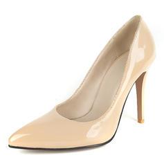 Femmes Cuir verni Talon stiletto Escarpins Bout fermé avec Autres chaussures