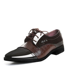 Hommes Latin Modern Style Chaussures plates Cuir en microfibre Latin