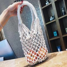 Hollow Cotton Shoulder Bags/Beach Bags