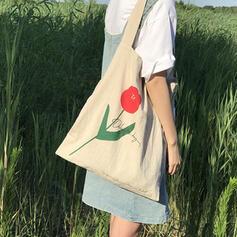 Elegante/Especial/Vintage/Floral/Super conveniente Bolsas de lona/Balde Malas/Hobo Malas