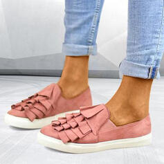 Women's Canvas Casual Outdoor With Ruffles shoes