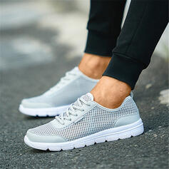 Unisex Leatherette Mesh Casual Outdoor Athletic shoes