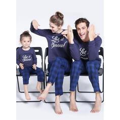Xadrez Carta Família Combinando Natal Pijama