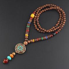 уникальный красивая фешенебельный керамический с смола Ожерелья