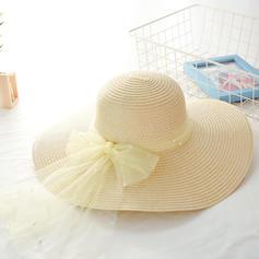 Dames Beau avec Bowknot Chapeaux de plage / soleil