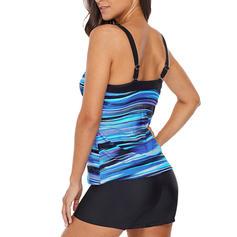 Stripe Top Strap Beautiful Bohemian Tops Swimsuits