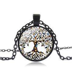 Einzigartig Sexy Exotisch Papier Legierung Glas Halsketten