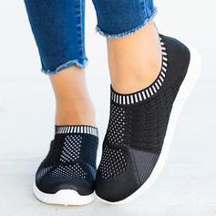 Жіночі Тканина Сітка Випадковий На відкритому повітрі з В'язаний одяг взуття