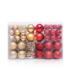 Merry Christmas 100 PCS PVC Christmas Décor Ball (Set of 100)