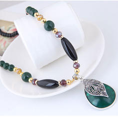 Stylish Alloy Resin Women's Necklaces
