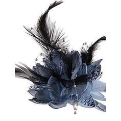 Ladies' Glamourous/Simple/Handmade/Eye-catching Silk Flower Fascinators