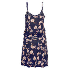 Print/Floral Sleeveless Shift Above Knee Casual/Vacation Dresses