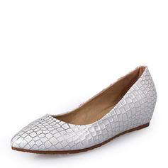 Mulheres Couro Salto baixo Sem salto Fechados com Outros sapatos