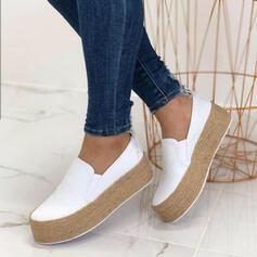 Femmes PU Décontractée De plein air Athlétique chaussures