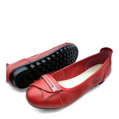 Kvinder Ægte Læder Flad Hæl Fladsko med Andre sko