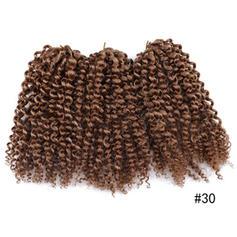 Frisé cheveux synthétiques Tresses (Ensemble de 3) 80g