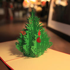 joyeux Noël Sapin de Noël 3D Avec enveloppe Carte Papier Cartes de voeux Cartes postales Invitations