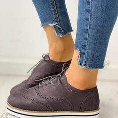 Women's PU Casual Outdoor With Lace-up shoes