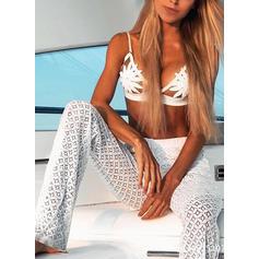 Floreale Triangolo Cinghia Sexy Bikinis Costumi Da Bagno