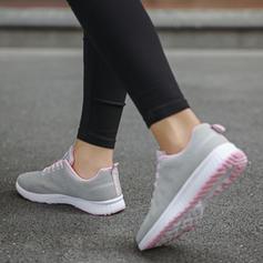 Kvinnor Mesh Fritids med Bandage skor