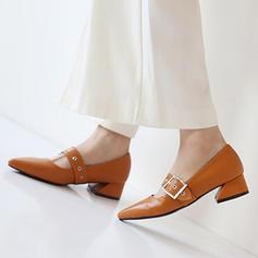 Femmes Similicuir Talon bottier Escarpins Bout fermé avec Perle d'imitation Autres Lanière tressé Semelle Élastique chaussures