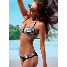 Low Waist V-Neck Elegant Bikinis Swimsuits