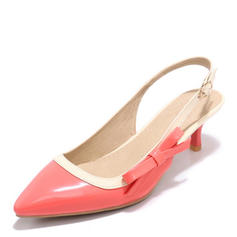 Femmes Cuir verni Talon stiletto Sandales Escarpins Escarpins avec Boucle chaussures