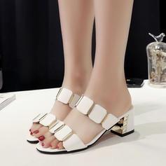 Femmes PU Talon bottier Sandales chaussures