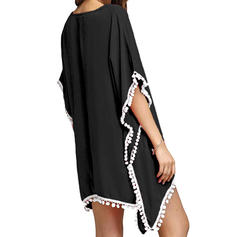 V-neck Bohemian Cover-ups Swimsuits