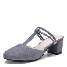 Femmes Suède Talon stiletto Sandales Escarpins avec Autres chaussures